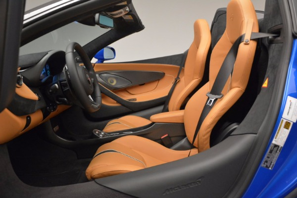 Used 2018 McLaren 570S Spider for sale Call for price at Pagani of Greenwich in Greenwich CT 06830 27