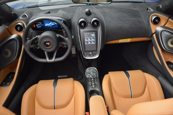 Used 2018 McLaren 570S Spider for sale Call for price at Pagani of Greenwich in Greenwich CT 06830 28
