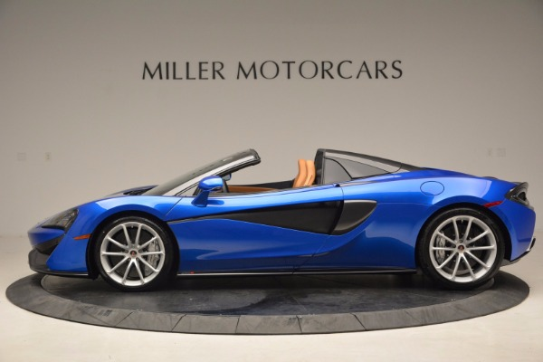 Used 2018 McLaren 570S Spider for sale Call for price at Pagani of Greenwich in Greenwich CT 06830 3