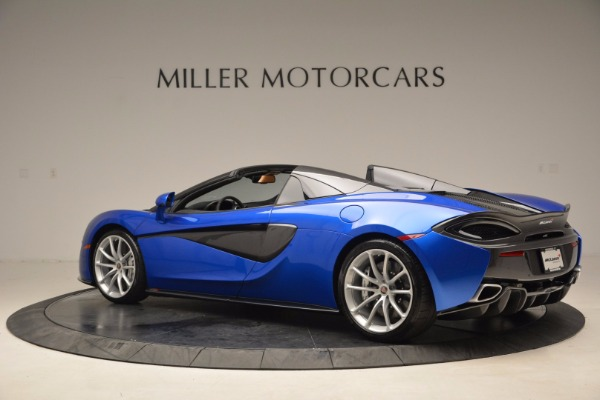 Used 2018 McLaren 570S Spider for sale Call for price at Pagani of Greenwich in Greenwich CT 06830 4