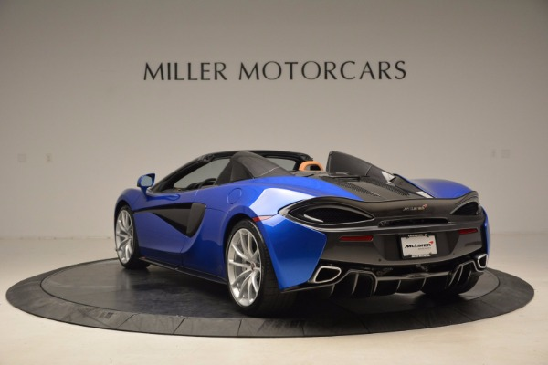 Used 2018 McLaren 570S Spider for sale Call for price at Pagani of Greenwich in Greenwich CT 06830 5