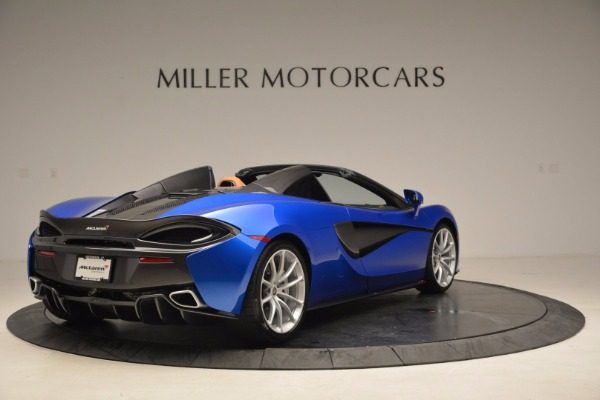 Used 2018 McLaren 570S Spider for sale Call for price at Pagani of Greenwich in Greenwich CT 06830 7