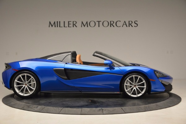 Used 2018 McLaren 570S Spider for sale Call for price at Pagani of Greenwich in Greenwich CT 06830 9