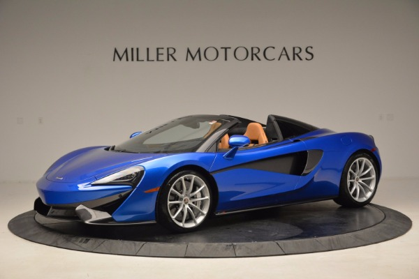 Used 2018 McLaren 570S Spider for sale Call for price at Pagani of Greenwich in Greenwich CT 06830 1