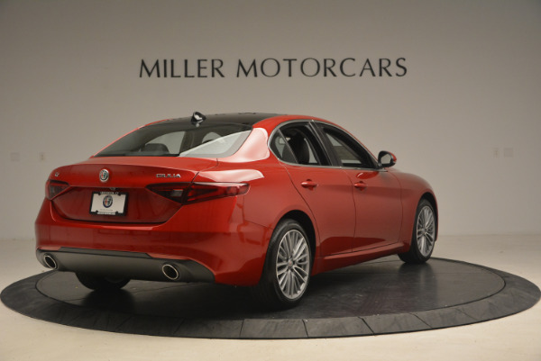 New 2017 Alfa Romeo Giulia Ti Q4 for sale Sold at Pagani of Greenwich in Greenwich CT 06830 7