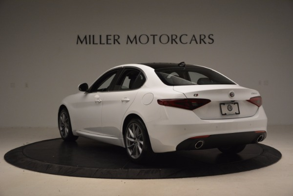 New 2017 Alfa Romeo Giulia Q4 for sale Sold at Pagani of Greenwich in Greenwich CT 06830 5