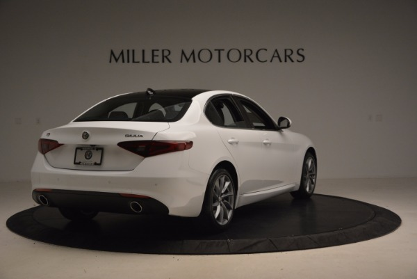 New 2017 Alfa Romeo Giulia Q4 for sale Sold at Pagani of Greenwich in Greenwich CT 06830 7