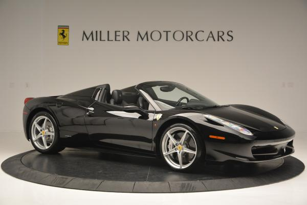 Used 2013 Ferrari 458 Spider for sale Sold at Pagani of Greenwich in Greenwich CT 06830 10