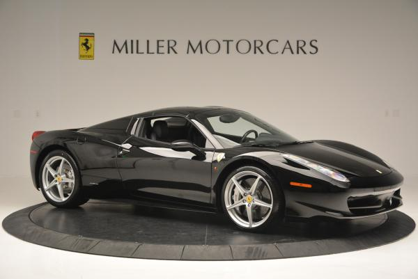 Used 2013 Ferrari 458 Spider for sale Sold at Pagani of Greenwich in Greenwich CT 06830 22