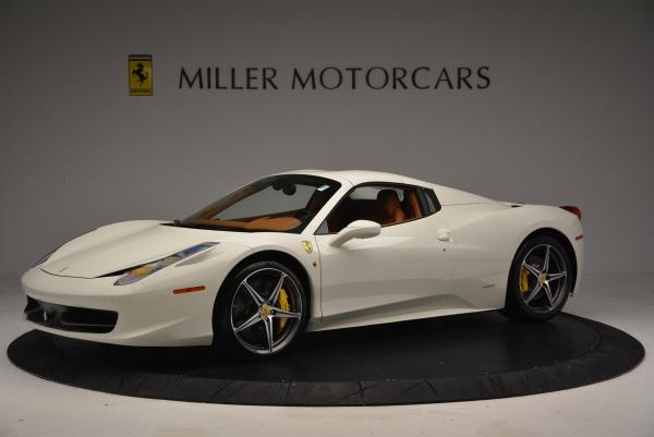 Used 2012 Ferrari 458 Spider for sale Sold at Pagani of Greenwich in Greenwich CT 06830 14