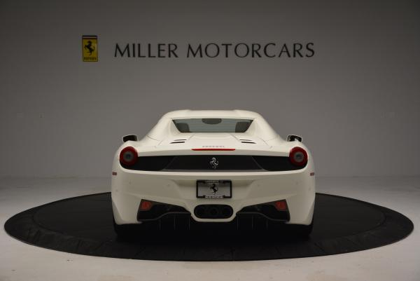 Used 2012 Ferrari 458 Spider for sale Sold at Pagani of Greenwich in Greenwich CT 06830 18