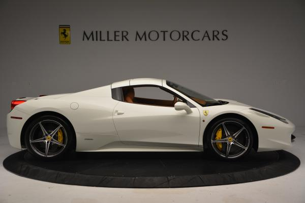 Used 2012 Ferrari 458 Spider for sale Sold at Pagani of Greenwich in Greenwich CT 06830 21