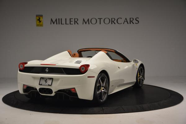 Used 2012 Ferrari 458 Spider for sale Sold at Pagani of Greenwich in Greenwich CT 06830 7