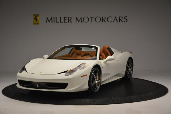 Used 2012 Ferrari 458 Spider for sale Sold at Pagani of Greenwich in Greenwich CT 06830 1