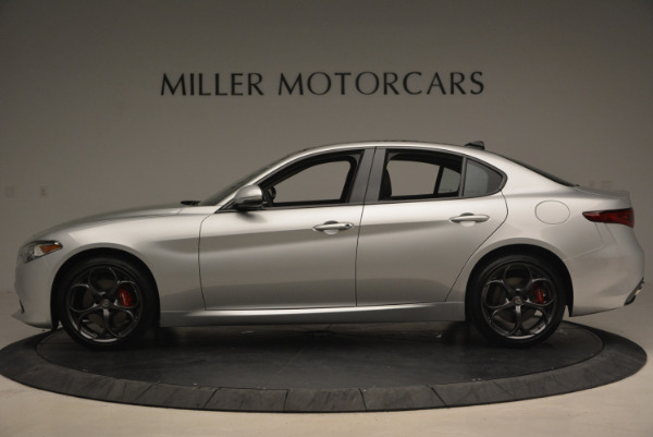 New 2017 Alfa Romeo Giulia Ti Q4 for sale Sold at Pagani of Greenwich in Greenwich CT 06830 3