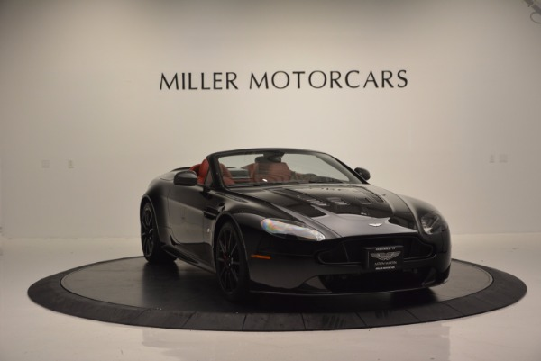 Used 2015 Aston Martin V12 Vantage S Roadster for sale Sold at Pagani of Greenwich in Greenwich CT 06830 11