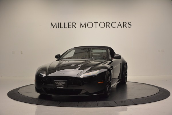 Used 2015 Aston Martin V12 Vantage S Roadster for sale Sold at Pagani of Greenwich in Greenwich CT 06830 13