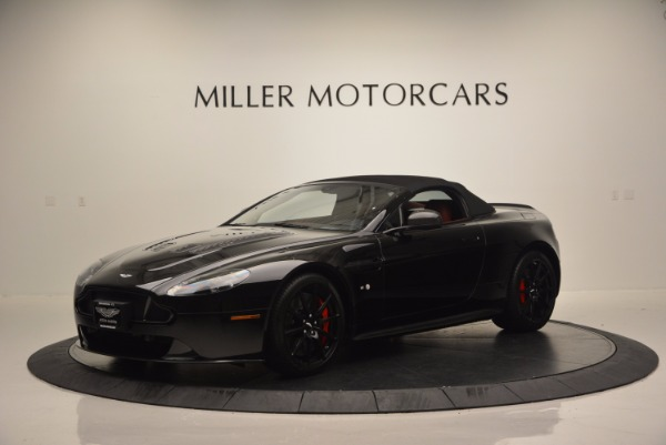Used 2015 Aston Martin V12 Vantage S Roadster for sale Sold at Pagani of Greenwich in Greenwich CT 06830 14