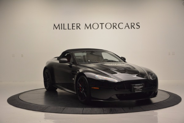 Used 2015 Aston Martin V12 Vantage S Roadster for sale Sold at Pagani of Greenwich in Greenwich CT 06830 17