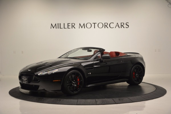 Used 2015 Aston Martin V12 Vantage S Roadster for sale Sold at Pagani of Greenwich in Greenwich CT 06830 2