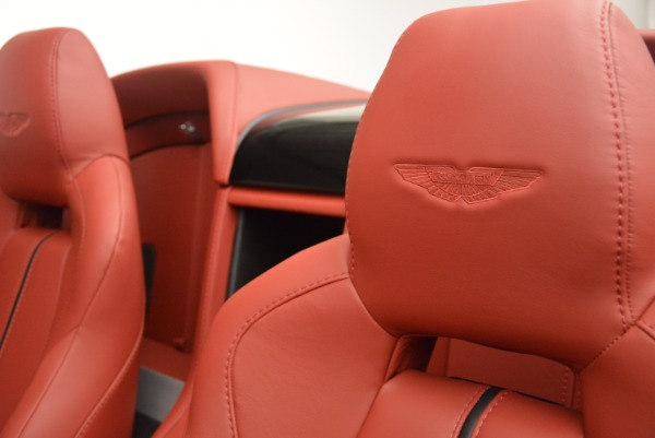 Used 2015 Aston Martin V12 Vantage S Roadster for sale Sold at Pagani of Greenwich in Greenwich CT 06830 24