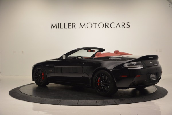 Used 2015 Aston Martin V12 Vantage S Roadster for sale Sold at Pagani of Greenwich in Greenwich CT 06830 4