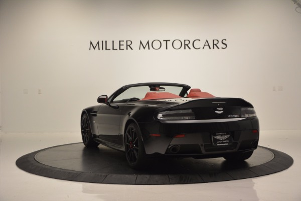 Used 2015 Aston Martin V12 Vantage S Roadster for sale Sold at Pagani of Greenwich in Greenwich CT 06830 5