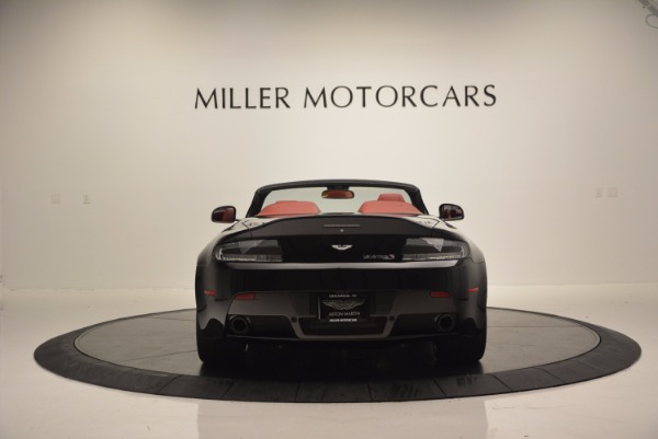 Used 2015 Aston Martin V12 Vantage S Roadster for sale Sold at Pagani of Greenwich in Greenwich CT 06830 6