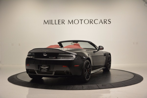 Used 2015 Aston Martin V12 Vantage S Roadster for sale Sold at Pagani of Greenwich in Greenwich CT 06830 7