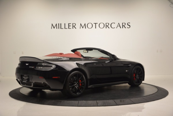 Used 2015 Aston Martin V12 Vantage S Roadster for sale Sold at Pagani of Greenwich in Greenwich CT 06830 8