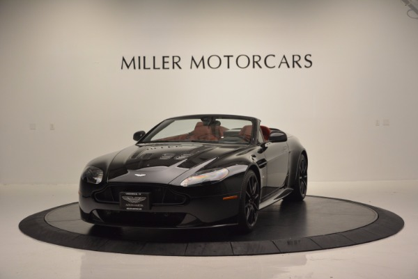 Used 2015 Aston Martin V12 Vantage S Roadster for sale Sold at Pagani of Greenwich in Greenwich CT 06830 1