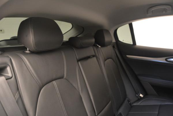 New 2018 Alfa Romeo Stelvio Q4 for sale Sold at Pagani of Greenwich in Greenwich CT 06830 23