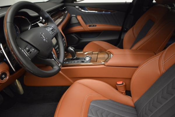 New 2017 Maserati Quattroporte S Q4 GranLusso for sale Sold at Pagani of Greenwich in Greenwich CT 06830 16
