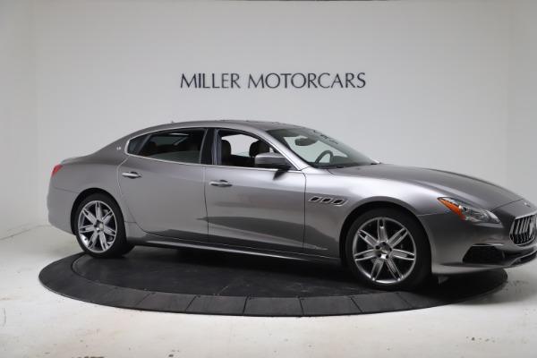 Used 2017 Maserati Quattroporte SQ4 GranLusso/ Zegna for sale $62,900 at Pagani of Greenwich in Greenwich CT 06830 10