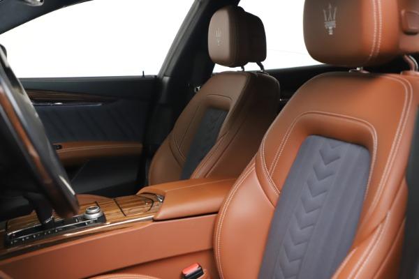 Used 2017 Maserati Quattroporte SQ4 GranLusso/ Zegna for sale $62,900 at Pagani of Greenwich in Greenwich CT 06830 15