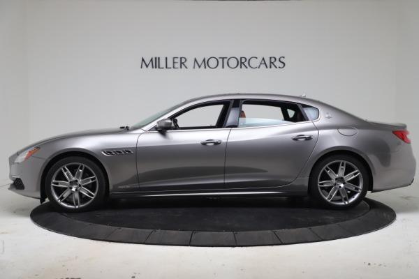 Used 2017 Maserati Quattroporte SQ4 GranLusso/ Zegna for sale $62,900 at Pagani of Greenwich in Greenwich CT 06830 3
