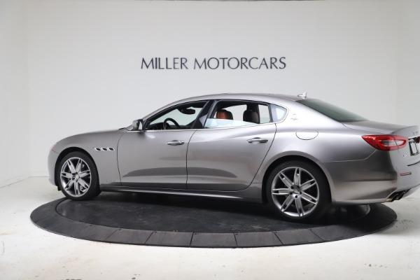 Used 2017 Maserati Quattroporte SQ4 GranLusso/ Zegna for sale $62,900 at Pagani of Greenwich in Greenwich CT 06830 4