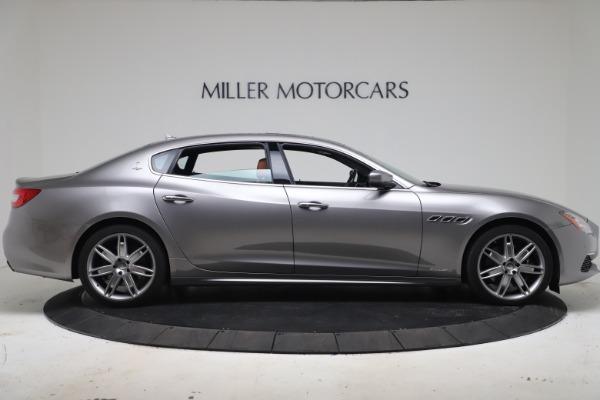 Used 2017 Maserati Quattroporte SQ4 GranLusso/ Zegna for sale $62,900 at Pagani of Greenwich in Greenwich CT 06830 9