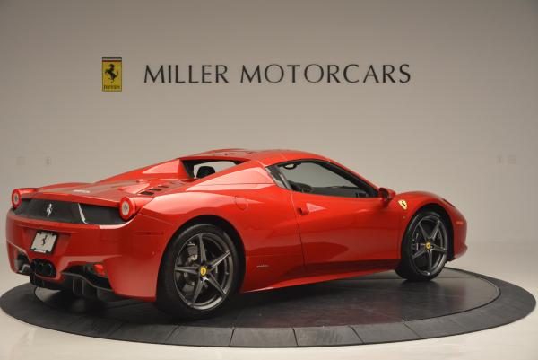 Used 2013 Ferrari 458 Spider for sale Sold at Pagani of Greenwich in Greenwich CT 06830 20