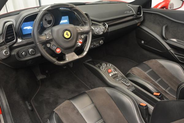 Used 2013 Ferrari 458 Spider for sale Sold at Pagani of Greenwich in Greenwich CT 06830 25