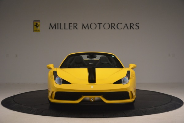 Used 2015 Ferrari 458 Speciale Aperta for sale Sold at Pagani of Greenwich in Greenwich CT 06830 12