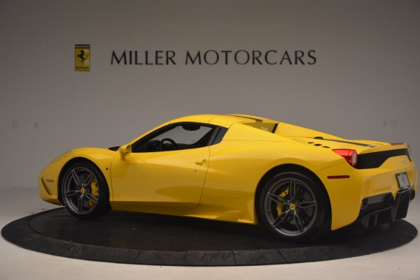 Used 2015 Ferrari 458 Speciale Aperta for sale Sold at Pagani of Greenwich in Greenwich CT 06830 16