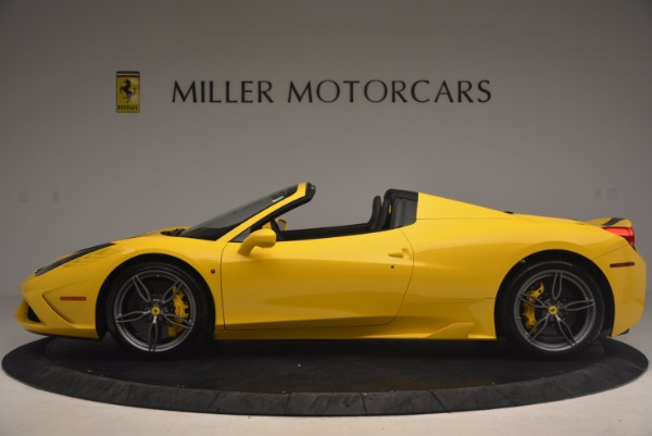 Used 2015 Ferrari 458 Speciale Aperta for sale Sold at Pagani of Greenwich in Greenwich CT 06830 3