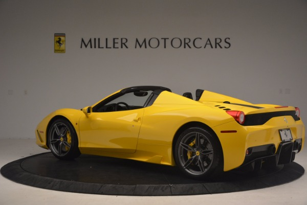Used 2015 Ferrari 458 Speciale Aperta for sale Sold at Pagani of Greenwich in Greenwich CT 06830 4