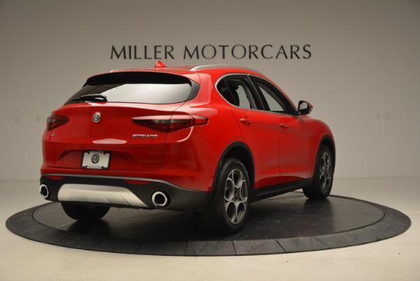 New 2018 Alfa Romeo Stelvio Q4 for sale Sold at Pagani of Greenwich in Greenwich CT 06830 7