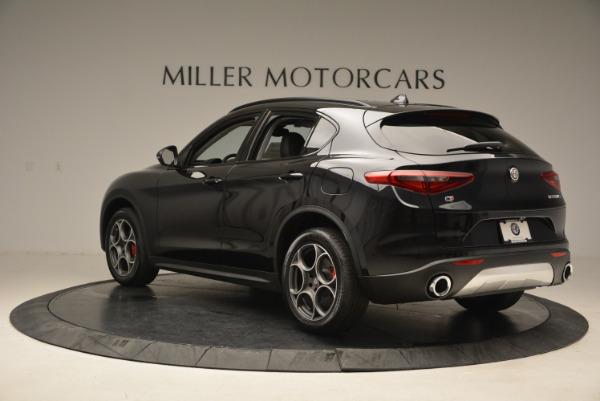 New 2018 Alfa Romeo Stelvio Sport Q4 for sale Sold at Pagani of Greenwich in Greenwich CT 06830 5