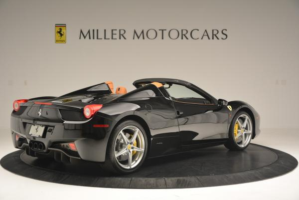Used 2015 Ferrari 458 Spider for sale Sold at Pagani of Greenwich in Greenwich CT 06830 8