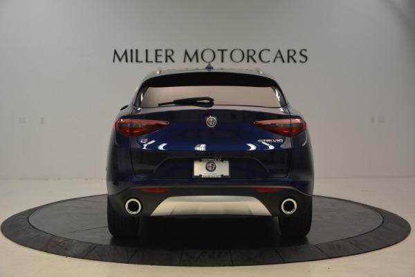 New 2018 Alfa Romeo Stelvio Ti Q4 for sale Sold at Pagani of Greenwich in Greenwich CT 06830 6