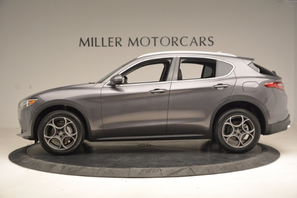 New 2018 Alfa Romeo Stelvio Q4 for sale Sold at Pagani of Greenwich in Greenwich CT 06830 3
