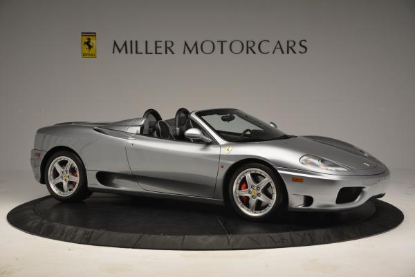 Used 2004 Ferrari 360 Spider 6-Speed Manual for sale Sold at Pagani of Greenwich in Greenwich CT 06830 10